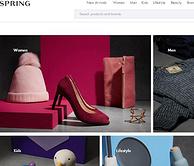 美国时尚网站 shopspring下单攻略 叠加情人节8折码不要太完美