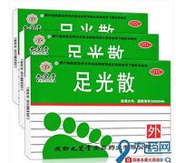 白菜党:  九芝堂 足光散 40g*3袋*2盒 + 人福成田 足光散 40g*3袋