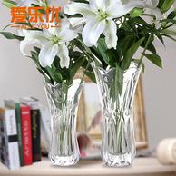爱乐优 欧式玻璃花瓶