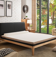 Koallar 可奈尔 泰国进口天然乳胶床垫 180×200×8cm