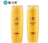 隆力奇去屑去油洗发水400ml+染后修护洗发水400ml
