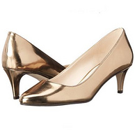 限US6码,Cole Haan 可汗 女士真皮高跟单鞋