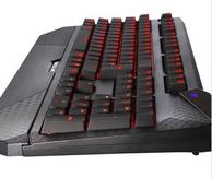 史上最强无冲!TESORO铁修罗 TS-G1NL 杜兰朵剑终极版 全背光机械键盘 黑色黑轴 小神价449元(易迅649元)