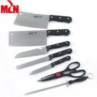 一套齐全:美琳娜 厨房刀具八件套