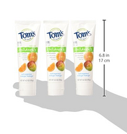 Tom's of Maine 儿童天然香橙味牙膏119g*3支