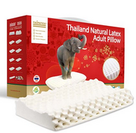 TAIPATEX 天然泰国乳胶 按摩护颈枕
