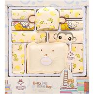 班杰威尔 纯棉婴儿衣服新生儿礼盒 12件