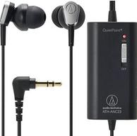 Audio-technica铁三角 ATH-ANC23 降噪耳塞式耳机*2件