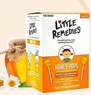Little Remedies 儿童天然蜂蜜镇咳润喉棒棒糖 10支装*4份
