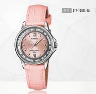 Casio卡西欧Analogue指针系列女式镶钻腕表