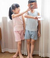 网易严选 草木染儿童背心套装 秒杀价 59(平时119)