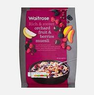 Waitrose 水果和浆果类什锦麦片 1kg*2袋