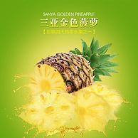海南香水菠萝2个装( 5斤左右)