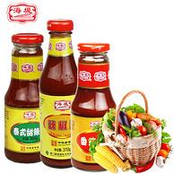 海堤 番茄沙司+辣椒酱+泰式甜辣酱895g