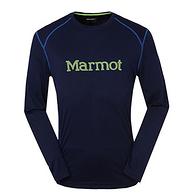 Marmot土拨鼠 F54310 男士超轻透气防晒长袖T恤