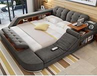 佐特 按摩布床榻榻米双人床1.8米 2920元包邮