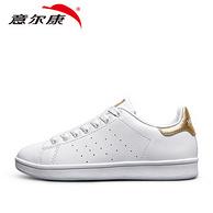 意尔康 休闲时尚情侣小白鞋