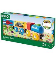 BRIO 火车系列 生日庆典火车模型玩具