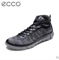 ECCO 爱步 盈速 女士真皮高帮休闲鞋