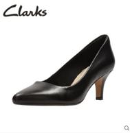 Clarks 其乐 女士真皮高跟单鞋