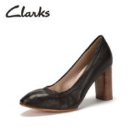 2017年新款,Clarks 其乐 Grace Eva 女士真皮浅口高跟鞋