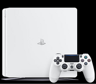 SONY索尼 PlayStation 4 500G 电脑娱乐机 随机附4张兑换卡