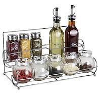 BJ拜杰 家用透明玻璃调味罐11件套BJ-BK-10TA