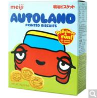 新加坡进口,Meiji 明治 电动乐园 饼干 70g*8盒 54元