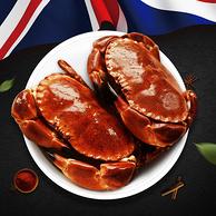 8年生长!英国进口!鲜玛特面包蟹熟冻面包蟹 600-800g 69元包邮或600金币兑换  69元包邮或600金币兑换