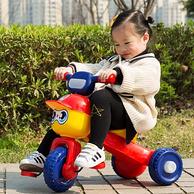 五祥 一键折叠 儿童三轮车