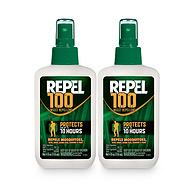 Repel 100驱蚊液 4盎司喷雾瓶 2瓶装