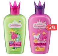 DM Prinzessin 小公主 儿童洗发沐浴二合一洗发水 200ml*2瓶+沐浴露 200ml