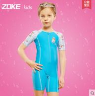 Zoke 洲克 迪士尼米奇米妮连体儿童游泳衣