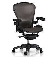 悬浮式设计,Herman Miller Aeron 赫曼米勒 人体工程学座椅 标准配置 7899元包邮(京东9083元)