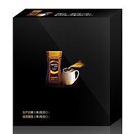白菜价!雀巢(NESTLE)金牌GOLD法式烘焙咖啡5袋