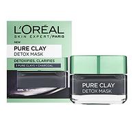 prime会员, L'OREAL PARIS 巴黎欧莱雅 3 Pure Clays 排毒面膜 50ml