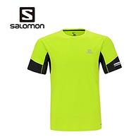 17年新款!7色码全,Salomon萨洛蒙 AGILE SS 男士跑步速干T恤