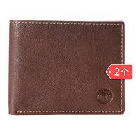 Timberland 天木兰 BLIX D10218 男士短款钱包*2件 208元包邮包税