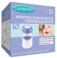 Prime会员:Lansinoh 母乳存储瓶 160ml 4只装