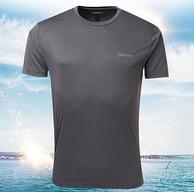 Marmot 土拨鼠 男士吸湿排汗速干防晒短袖T恤 4色