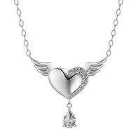 AFFINER 阿菲娜 AFP2037 925银 施华洛世奇锆石 天使之泪项链