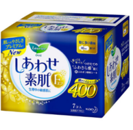 日本进口 乐而雅 F系列超长夜用护翼型卫生巾40cm*7片*3包