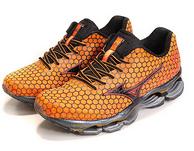 Mizuno 美津浓 Wave Prophecy 预言3 男款旗舰跑鞋 骚橙色 70美元约430元(满200美元可再8折)
