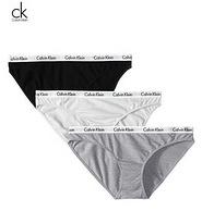 Calvin Klein 卡文克莱 Underwear 经典款女士三角裤内裤 3条装