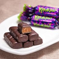俄罗斯 KDV紫皮糖 kpokaht夹心巧克力糖 500g 券后17.8元包邮