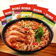 新加坡进口,KOKA 可口 方便面6口味组合装85g*12包 券后29.9元包邮