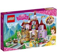 双重优惠!LEGO 乐高 迪士尼公主系列 41067 贝儿公主的魔法城堡
