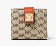 历史新低,MICHAEL KORS Natalie Heritage Signature 女士钱包 38.4美元约¥264(原价128美元)