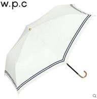 2017新款,防晒第一 w.p.c 三折6骨遮光遮热系列 轻量涂层水手条纹遮阳伞