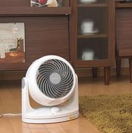 超静音日系风扇!日本爱丽思IRIS涡轮空气对流循环扇 两件一共218元包邮(中亚218元)